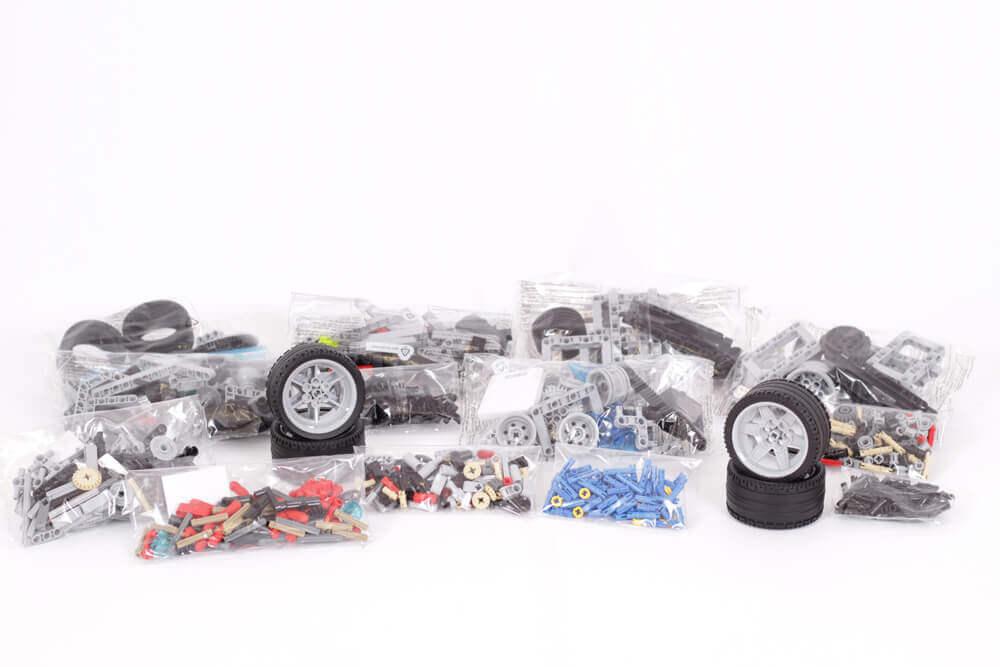 Голям комплект LEGO MINDSTORMS EV3 [45544] + [45560] - Магазин за ...